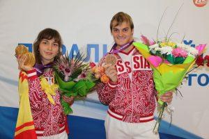 21 сентября в Ростовской области сыграли параолимпийскую свадьбу Новочеркасский бронзовый призер взял в жены золотую медалистку из Чебоксар