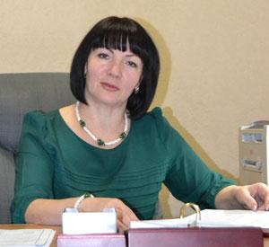 Директор МФЦ Надежда Косоротова