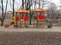 елка в парке казачок