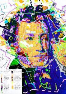 Пушкин - географическая карта