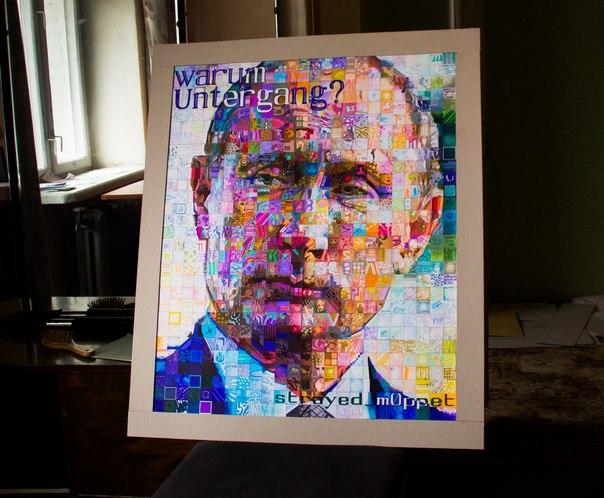 портрет Путина от Марка Кучерова