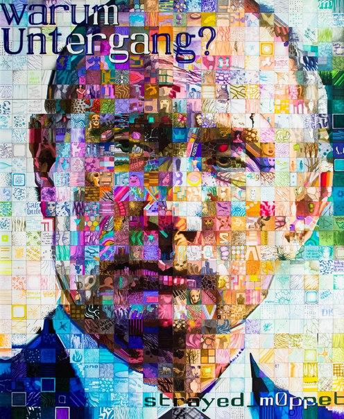 фрагмент портрета Путина 2