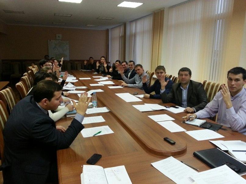 Кипит работа Молодежного Парламента при Городской Думе Новочеркасска
