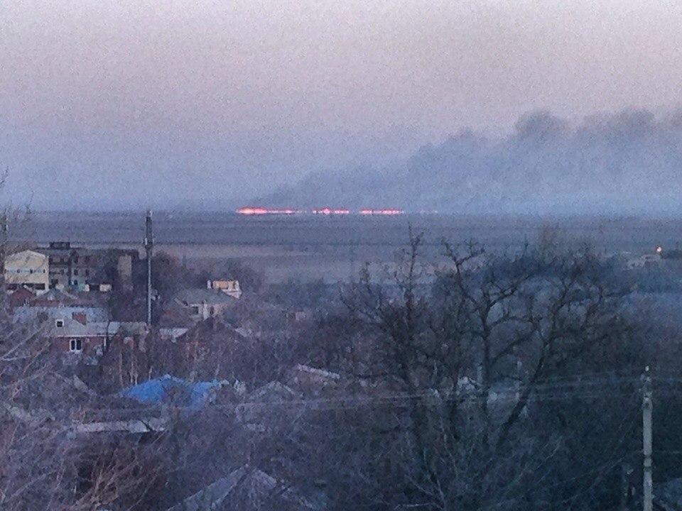 пожар за городом
