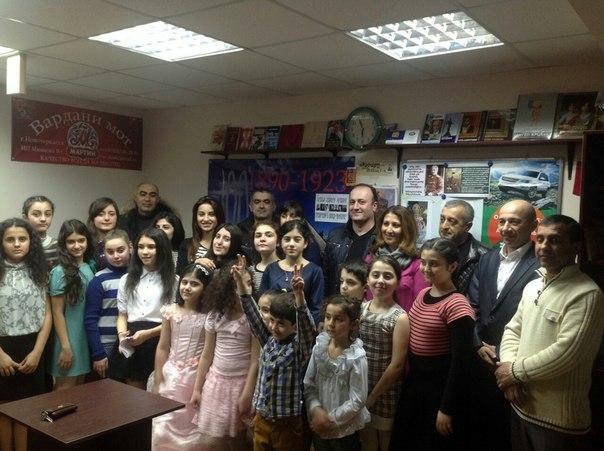 Праздник в армянской воскресной школе