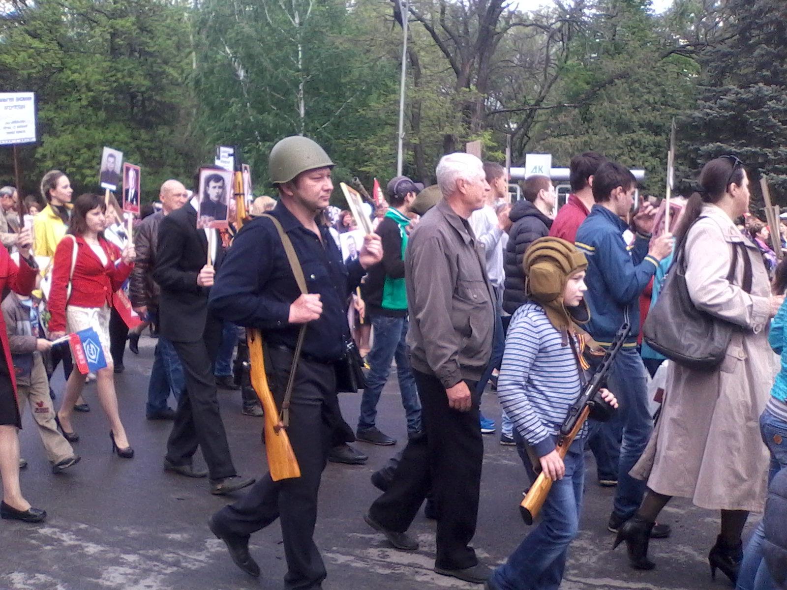 В День Победы в мкр.Соцгород прошел торжественный митинг