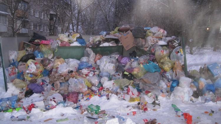 мусор островского