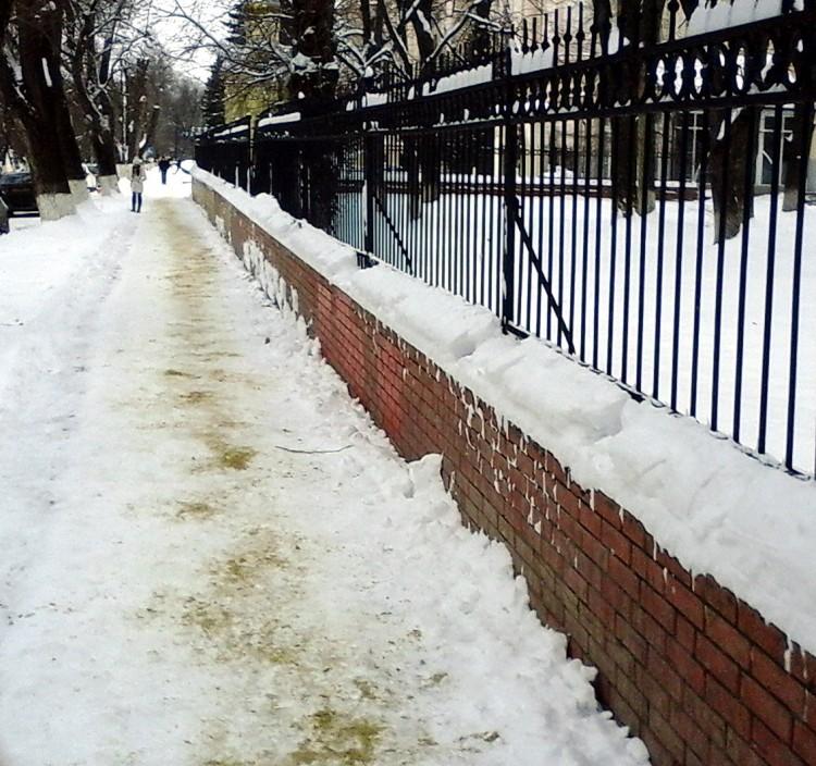 тротуар НПИ