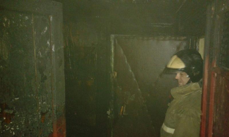 пожар на думенко 1
