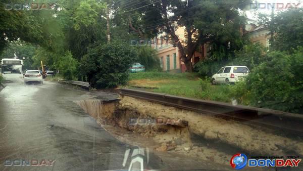 михайловская после дождя