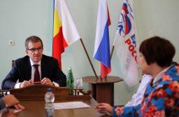 Михаил Чернышёв провёл приём в Новочеркасске