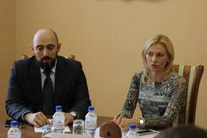 Встреча членов Молодежного парламента со Стенякиной Екатериной Петровной