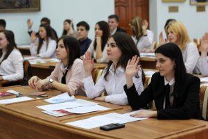 Первое заседание Молодежного парламента в новом году