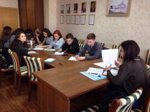 «Парламентский тренинг» Молодежного парламента!