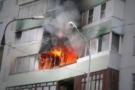 В новочеркасской многоэтажке случился пожар