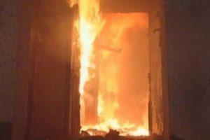 В Новочеркасске при пожаре пострадал ребенок