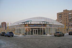 Губернатор обратил внимание на крышу Ледового дворца в Новочеркасске