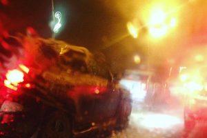 Из-за снегопада Новочеркасск встал в пробках