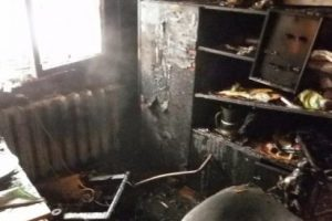 Рабочая неделя для новочеркасцев началась с пожара