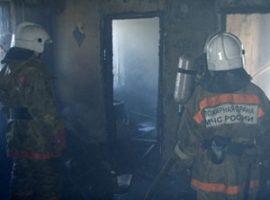 Пожар в Новочеркасске унес жизнь старушки