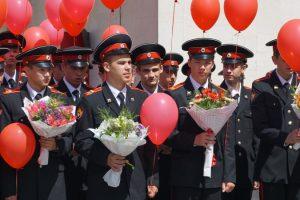 В Новочеркасском суворовском военном училище МВД прошел последний звонок